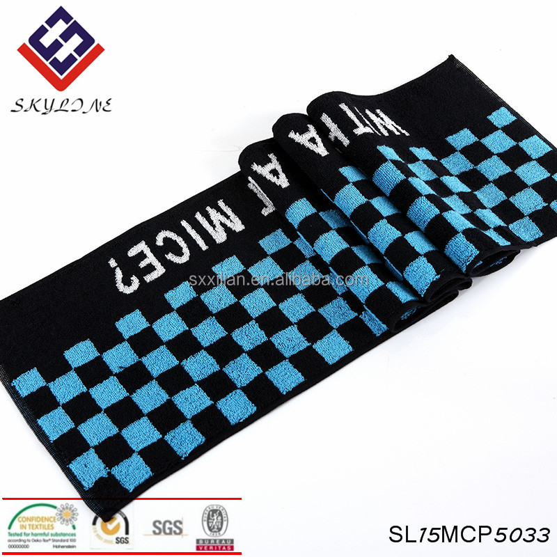 Sports towel Cotton yoga towels gym badminton towel custom logo
