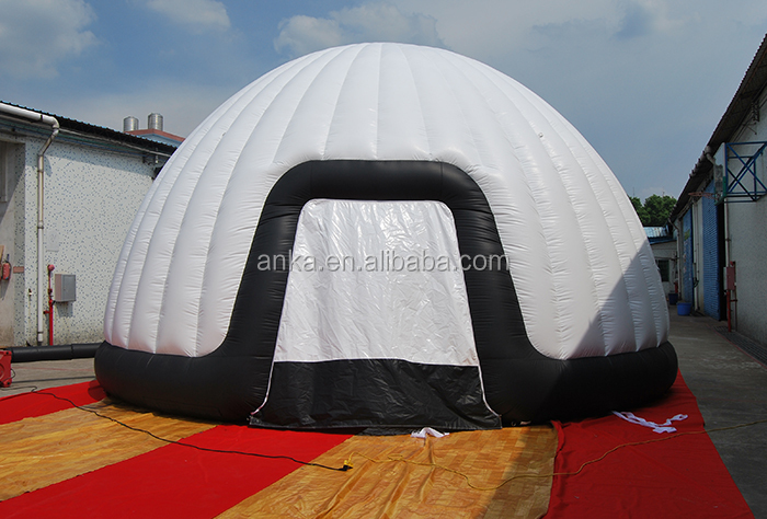 China manufacturer inflatable luxury safari tent for sale ( sports dome, waterproof fabric)