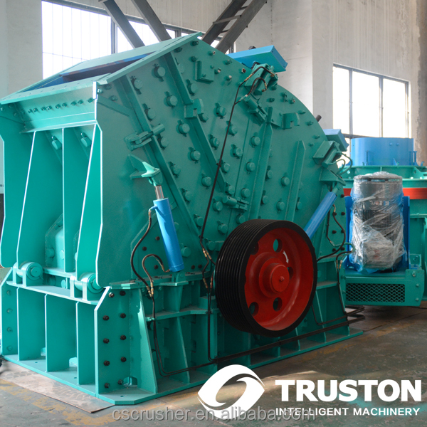 Limestone Sand making Impact Crusher/baffle crushing machiner CGF-1515 Rack Can Be Opened in 2 Sides-reaction crushing equipment