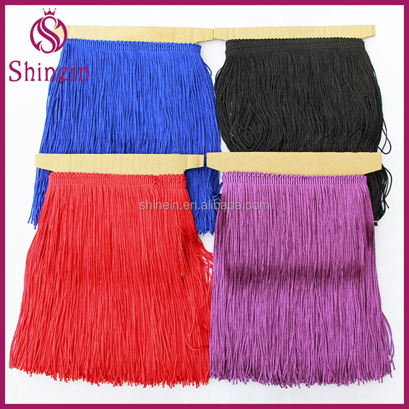 Bullion tassel fringe 15,20,50,80,100cm long latin dress fringe for Bags, Garment,Home Textile