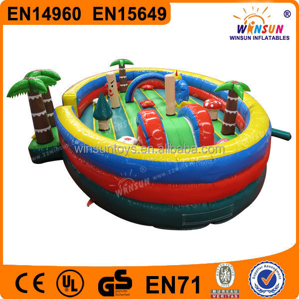 Lovely Popular Playing Durable Inflatable Moonwalk Toys