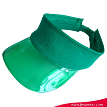customized Promotional EVA Visor with towelling cloth
