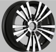 A grade good quality 13x5.5 replica wheesl rims rim black 4x100 alloy wheels for sale HOT SALE rines car alloy wheel rims