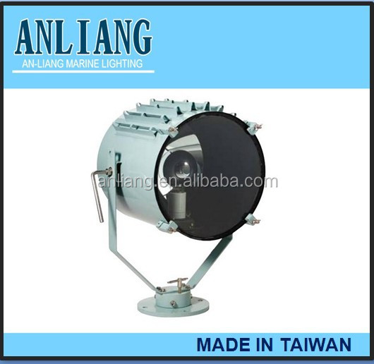 taiwan made 1000w stainless boats marine search light
