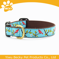 New And Hot Sale Plastic Buckles Pet Products Collar For Dog