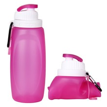 Collapsible Roll Up Sports Water Bottle