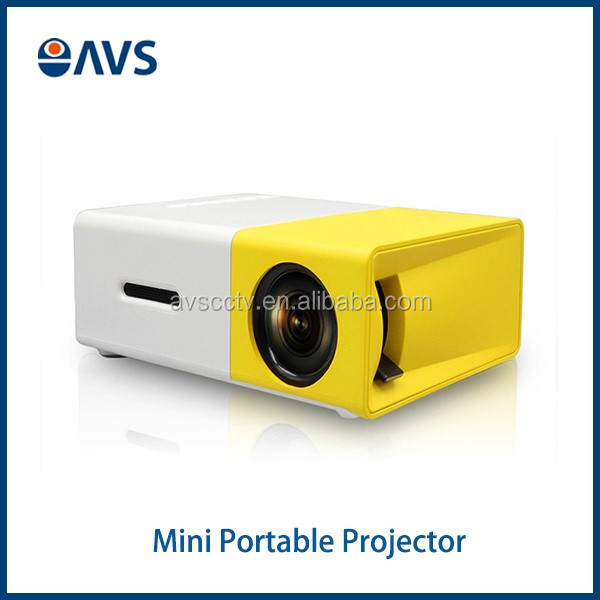 YG300 Portable Home Theater PC Laptop AV/HDMI Input Pico Pocket <strong>Projector</strong>