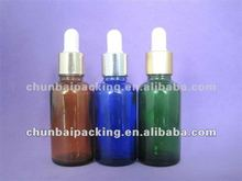 100ml frost green liquid medicine glass dropper bottle