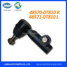 Genuine tie rod end with grease nipple for Nissan UD Condor trucks and YU41 Malaysia with OEM No. 48570-0T810 RH and 48571-0T810