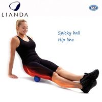 New Product! peanut lacrosse ball, female massage ball, yellow jade healthy balls