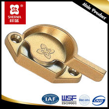 Aluminium crescent shape lock for sliding window