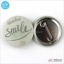 Fashion low price promotion gift colorful 58mm tin button badge