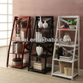 Brown MDF Ladder bookshelvs