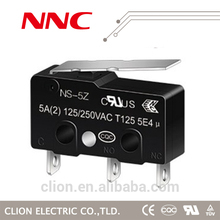NNC push button micro switch NV-16Z-1C25 Short Hinge Lever 16A 125v/250v ENEC switch, UL approval
