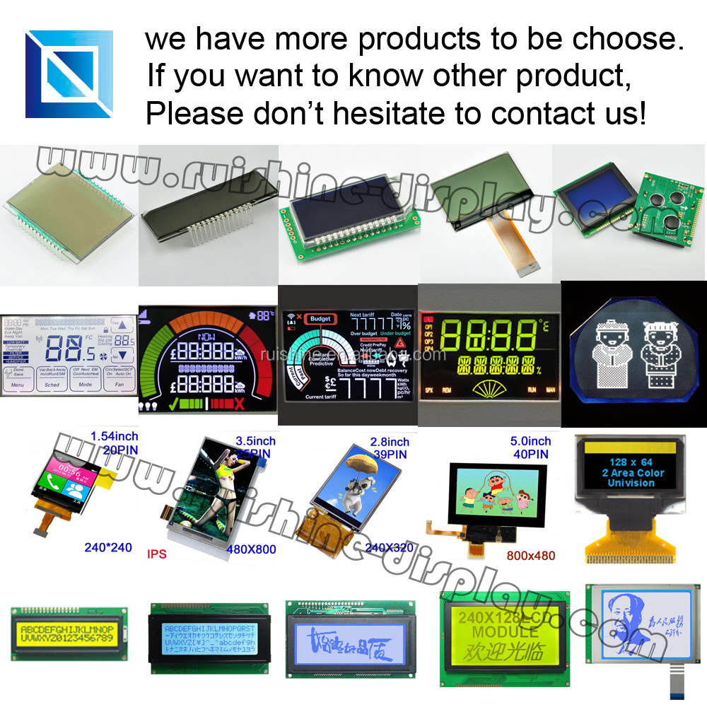 "standard product 800*480 resolution 7.0"" inch tft lcd screen"