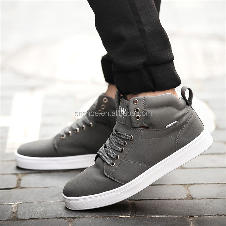 Huijin Experience supplier non slip rubber sole breathable brand casual shoes men