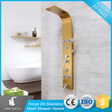 china stainless steel wall mounted shower panel
