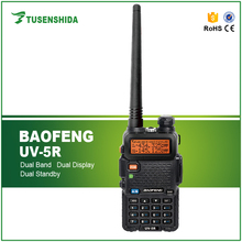 China Ham Mobile Radio BAOFENG Dual Band 5-8km UV-5R Transceiver