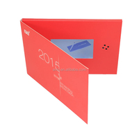 cheap price Professional Manufacturer specialized in MP4 player greeting card video brochure card