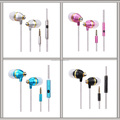 Bullet Shell Shape Fit Best in Class In-Ear Earbud Headphones Clear Sound, Ergonomic Comfort-Fit,for iPhone,for samsung, Android