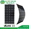 2016 Custom OEM 50W 100W 120W 140W Semi Flexible Solar Panel for boat yacht
