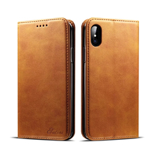 Best Seller In USA leather mobile phone wallet case for iPhone 8 case Kistand
