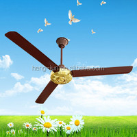 high quality silver cool ceiling fan QJFC2000-G
