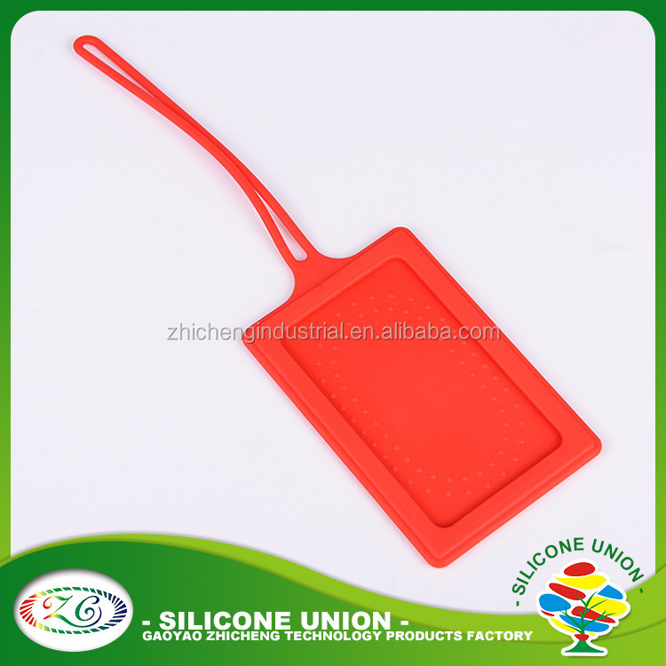 Cheap blank silicone luggage tags