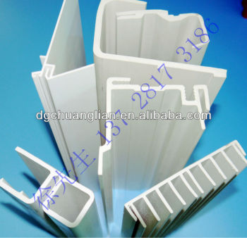 Extrusion plastic frame strip