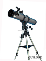 Cheap high quality universal 114x900EQ astronomy and stargazing telescope