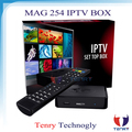 2015 new iptv account MAG 254 IPTV SET-TOP BOX mag254