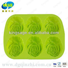 silicone cake mould/flower shap cake model
