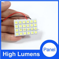 car led dome lamp 12v/24v led car light , 24smd 5050 led auto light fast delivery