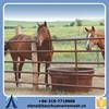 horse trailer rubber mat fence and white pvc horse fence