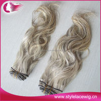 New arriving unprocessed indian remy gray hair