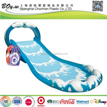 factoy blue wave kids play Cannonball Banzai Splash Water pvc inflatable Surf 'N Slide