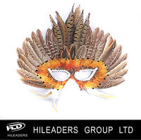 Party Decoration Feather Mask
