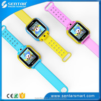1.54 inch touchscreen smart watch GPS tracking device wrist watch with GSM sim card slot support WCDMA for kids