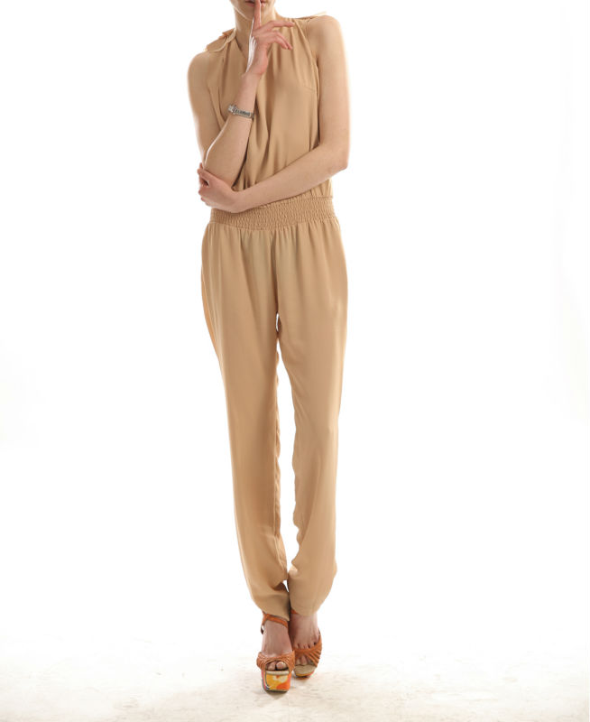 2014 spring and summer casual jumpsuit