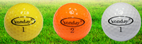 Golf Ball 90-105 Hardness and Two Piece Ball Golf Game Ball