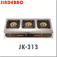 JK-313 Commercial kitchen equipment 3 burner pakistan gas stove
