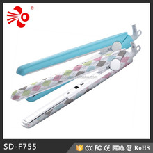 High Quality Professional Aluminum Plate Hair Straightener SD-F755