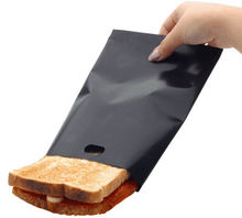 non-stick ptfe coated sandwich black toasting bag
