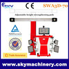 2015 car repairment, 3d wheel alignment/ car alignment machine/ launch alignment machine