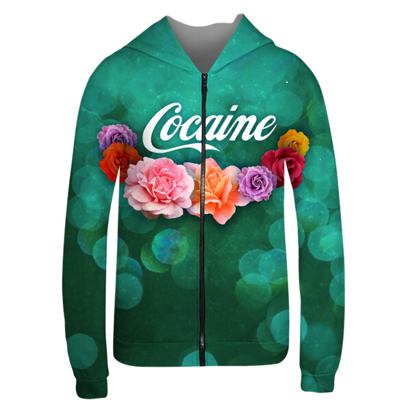 all over print zipper hoodie thin hoodies