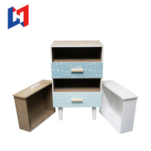 High Gloss Lacquer Craft Furniture 4 Drawer Filing Cabinet