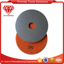 Diamond electroplated polishing pads for glass car