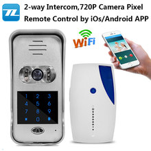 Most Popular Smart Home Intercom/ Door Bell With Camera/ wifi doorbell camera wifi