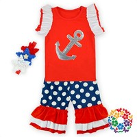 new products Boutique Clothing Baby Girl Set girls boutique clothing children spring set baby clothing 2 pieces t-shirt+shorts