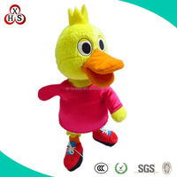 2015 Gift Funny Cute Customed chicken plush toy for sale